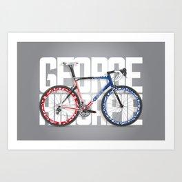 Cycling - Hincapie Stars and Stripes BMC Bold Art Print