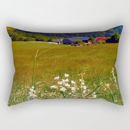 Wallflowers with no wall Rectangular Pillow
