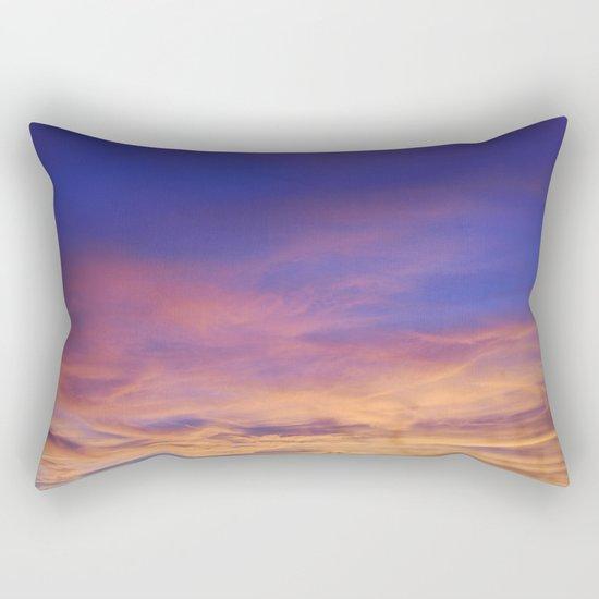 COME AWAY WITH ME - Autumn Sunset #1 #art #society6 Rectangular Pillow