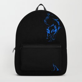 The Blue Wolf Backpack