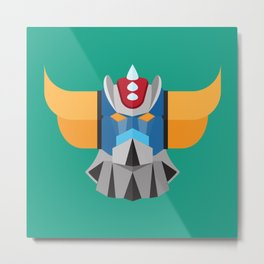 Grendizer - Ufo Robot Metal Print