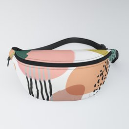 Abstract Modern Art Pattern 2 Fanny Pack