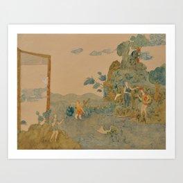 Zen World Art Print