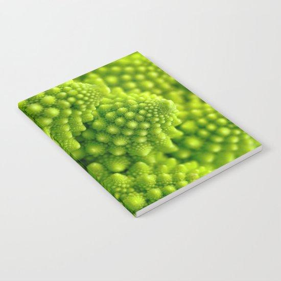 Macro Romanesco Broccoli Notebook