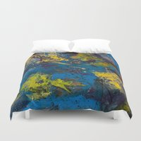 cosmic Duvet Covers featuring Cosmic by yellowbunnies