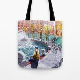 City Center Tote Bag