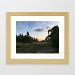Lake Placid Framed Art Print