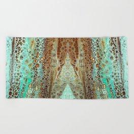 mirror1 Beach Towel