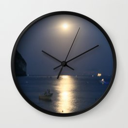 blue moon 4571 Wall Clock