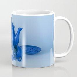 Blue tea party madness - still life Coffee Mug