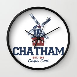Chatham, Massachusetts Wall Clock