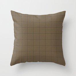 Burly Wood Blingham Throw Pillow