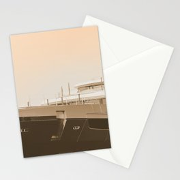 Summer Yacht | Digital Ocean Sea Travel Nature Photography | Nautical Wanderlust  Stationery Cards
