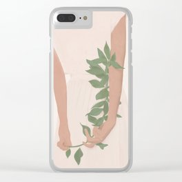 Holding on to a Branch Clear iPhone Case
