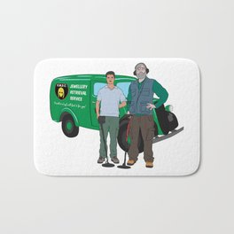 Russell & Hugh Jewellery Retrieval Service - DMDC - Detectorists Bath Mat