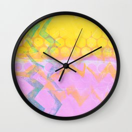 Because We're Bright Wall Clock