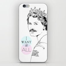 I Want It All iPhone & iPod Skin