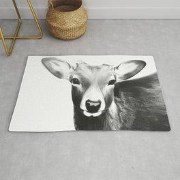 Kawaii deer Rug