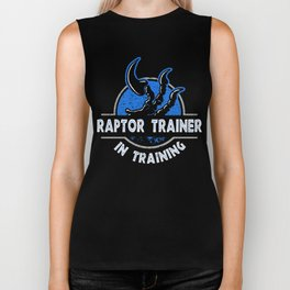 Raptor Trainer In Training Biker Tank
