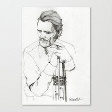 Chet Canvas Print