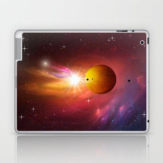 Star dust and interstellar gas. Laptop & iPad Skin