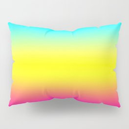 Ombre Magical Rainbow Unicorn Colors Pillow Sham