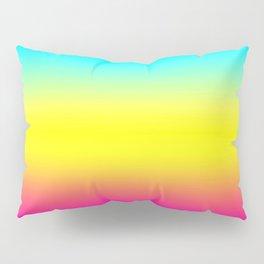 Ombre Magical Rainbow Unicorn Colors Pillow Sham