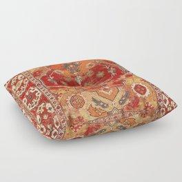 Transylvanian West Anatolian Carpet Print Floor Pillow
