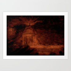 Hold back the nightmare... Art Print