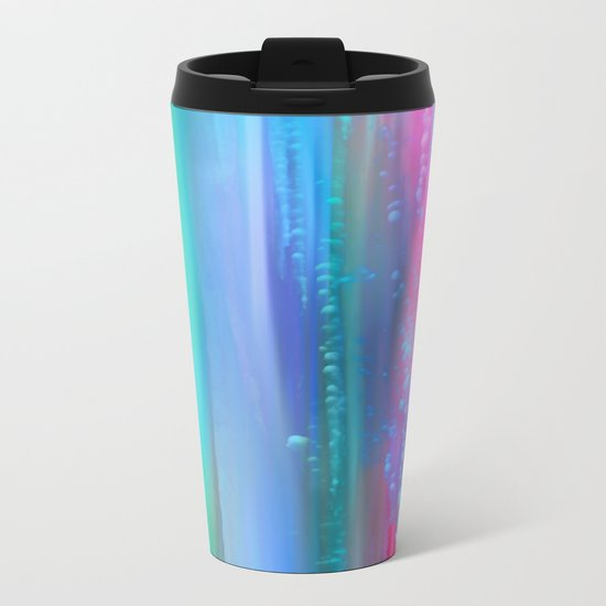Ice Curtain 5 Metal Travel Mug