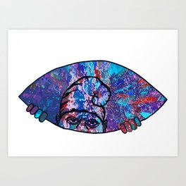 Got Purp? Art Print