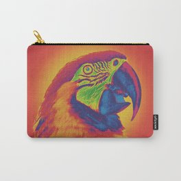 Trippy Parrot Carry-All Pouch
