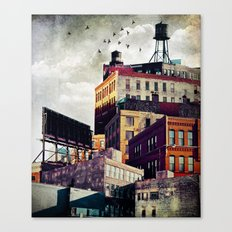 The Rooftop #3 Canvas Print