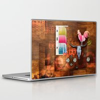 woody Laptop & iPad Skins featuring WOODY by Leonardo Tezcucano