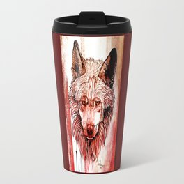 Alpha: Red Travel Mug