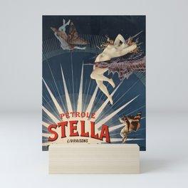Pétrole Stella Mini Art Print