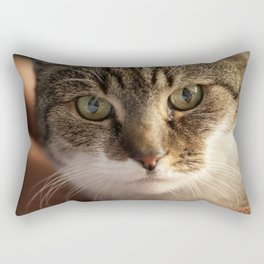 Look me in the Eyes! Rectangular Pillow