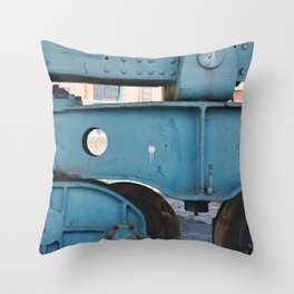 industrial pastels 3 Throw Pillow