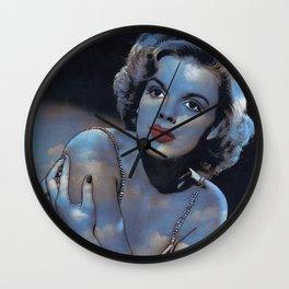 Judy in Clouds III Wall Clock