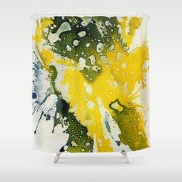Polychromoptic #8 by Michael Moffa Shower Curtain