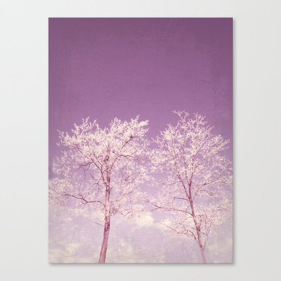 Winter's longing ~ Abstract  Canvas Print