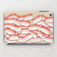 psych iPad Cases featuring PSYCH.. GUS FUNNY NAMES.. by studiomarshallarts