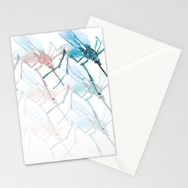 Mosquitoes. Vibrancy. Stationery Cards
