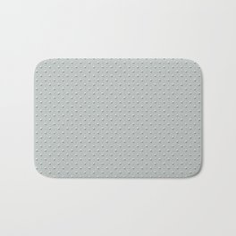 Studded Double Polka Stud on Slate Green Mist 2@50 Bath Mat
