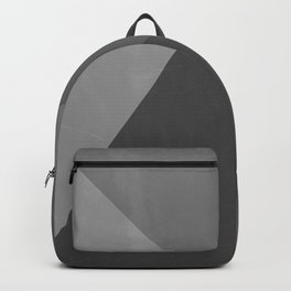 Pyramid - Black and White Backpack