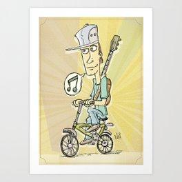 Ride a Bike! Art Print