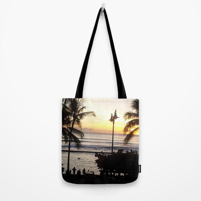 Waikiki Dusk Tote Bag
