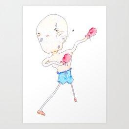 Buggin Out Art Print