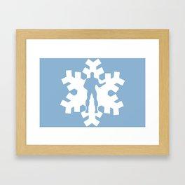 Iceman Framed Art Print