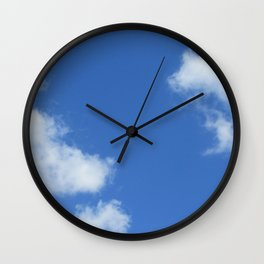 Nuages Wall Clock